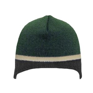 OTTO Acrylic Knit Beanie with Trim and Fleece Lining Thumbnail