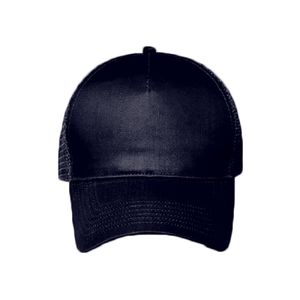 OTTO Cotton Twill Five Panel Low Profile Mesh Back Trucker Hat Thumbnail