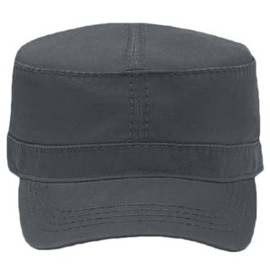 OTTO Garment Washed Superior Cotton Twill w/ Heavy Stitching Military Cap Thumbnail