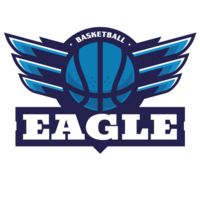 Eagle Basketball Logo Template Thumbnail