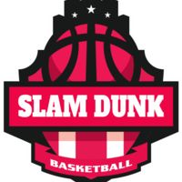 SLAM DUNK Basketball Logo Template Thumbnail